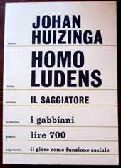 Homo Ludens; a Study of the Play Element in Culture