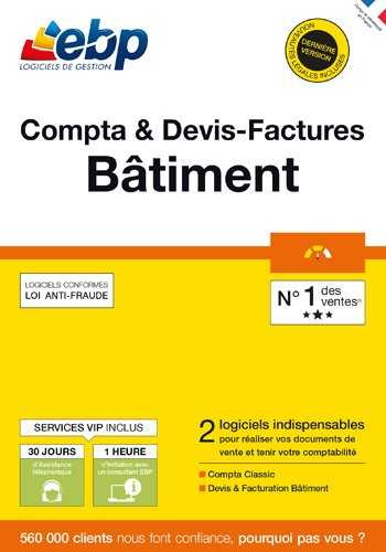 EBP Compta & Devis-Factures Bâtiment OL [PC Download]