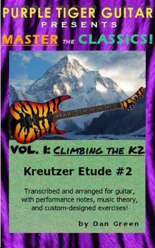 Climbing the K2: Kreutzer Etude #2 (Master the Classics! Book 1) (English Edition)