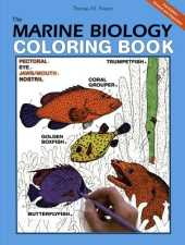 The Marine Biology Coloring Book, 2e (Harpercollins Coloring Books)