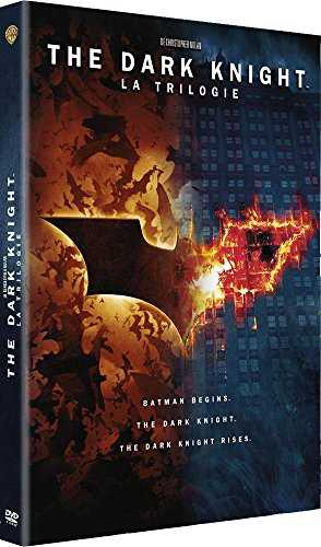 The Dark Knight - La trilogie - Coffret DVD - DC COMICS