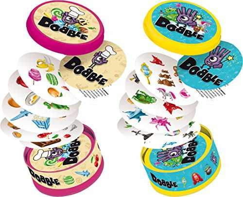 Asmodee Dobble Junior, DOBJU01FR, Multicolore