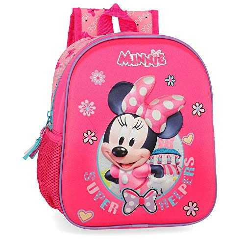 Disney Super Helpers Sac à dos enfants 25 centimeters 5.25 Rose (Rosa)