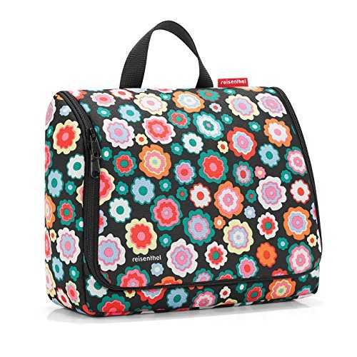 Reisenthel toiletbag XL Vanity, 28 cm, 4 liters, Multicolore (Happy Flowers)