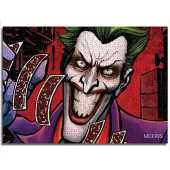 yuhho Puzzle d'impression 1000 Dark Clown Batman Movie Character Challenge Puzzle Thanksgiving Gift 38x52