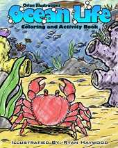 Ocean Life Coloring and Activity Book