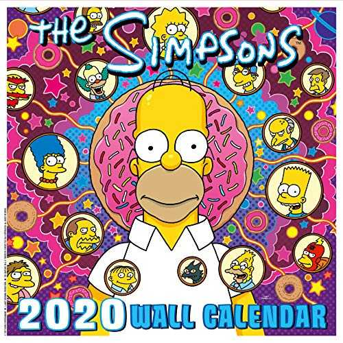 The Simpsons 2020 Calendar - Official Square Wall Format Calendar