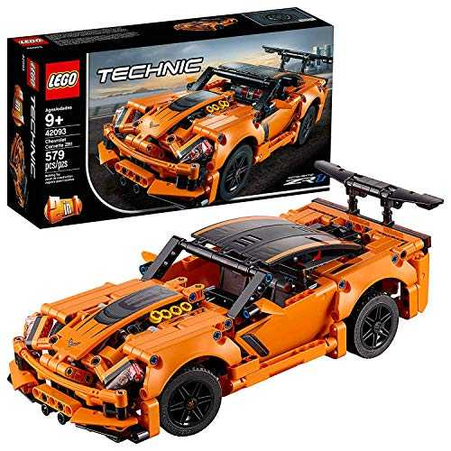 LEGO- Chevrolet Corvette ZR1 Technic Jeux de Construction, 42093, Multicolore, Norme