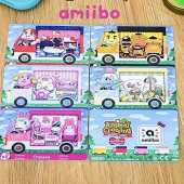 ACNH Sanrio Collaboration Pack de 6 cartes compatibles avec Switch pour Animal New Horizon NFC