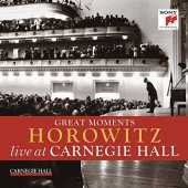 Great Moments of Vladimir Horowitz live at Carnegie Hall