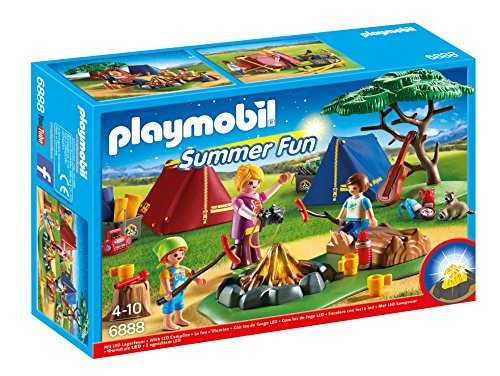 Playmobil - 6888 - Camp with LED campfire