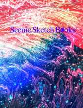 Scenic Sketch Book: Notebook for Drawing, Writing, Painting, Sketching or Doodling, 120 Pages, 8.5x11 (Color Theory Cloud Cover Vol. 13) (Born In War Film Studios: Scenic Sketch Books Collection)