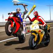 Moto Cross Madness: Crazy Bike Attack Game